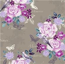 טפט פרחים לקירות
