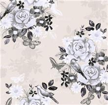 טפט בדוגמאת פרחים