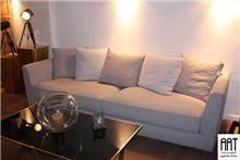 ספה בהירה לסלון