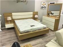חדר שינה דגם אלון מרחף - רהיטי המושבה