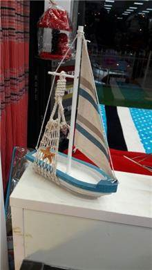 דגם סירה לנוי - רהיטי המושבה