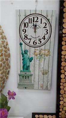 שעון עץ וינטאג' - רהיטי המושבה