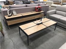 סט מזנון ושולחן מטל - רהיטי המושבה