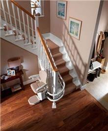 מדרגון כיסא מתעקל - אלקטרה תעמל - מעליות ומעלונים
