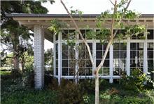 חלונות יוקרה מעץ אלומיניום