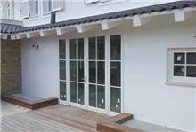 חלונות עץ מלא לבן