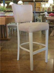 כסא בר מרופד