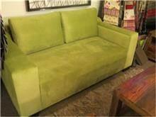 ספה ירוקה דו מושבית