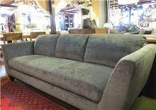 ספה תלת מושבית אפורה