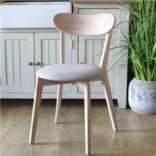כסא אוכל מעץ אלון