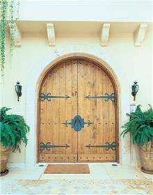 דלת מקושתת