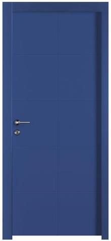 דלת כחולה לבית