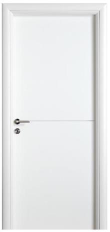 דלת פנים בצבע לבן
