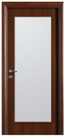 דלת אגוז צוהר גדול