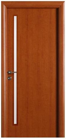דלת עם צוהר דק
