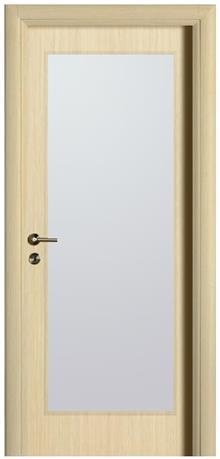 דלת אלון צוהר גדול