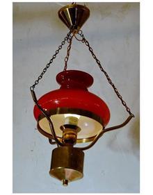 מנורת נפט אדומה