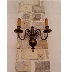 מנורה עתיקה לקיר