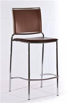 כסא בר בגוון חום