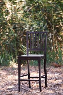 כסא בר בצבע שחור