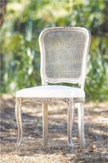 כסא גב קש