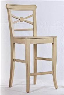 כסא בר בגוון מוקה