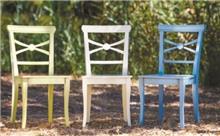 כיסאות צבעוניים