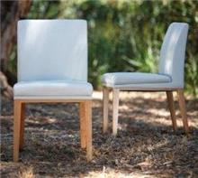 כסא לבן מרשים