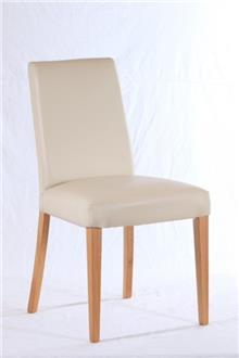 כסא לבן לפינת האוכל