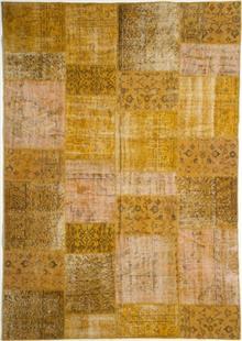 שטיח פאטצ' צהוב
