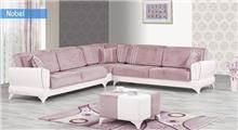 ספה פינתית ורודה - אלבור רהיטים