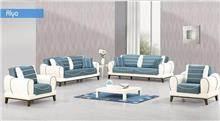 מערכת ישיבה בגוון תכלת - אלבור רהיטים