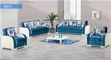 מערכת ישיבה בגוון טורקיז - אלבור רהיטים
