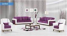 ריהוט לסלון בסגול ולבן - אלבור רהיטים