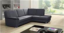 ספה אפורה מבד - אלבור רהיטים