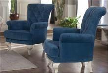 כורסאות כחולות - אלבור רהיטים