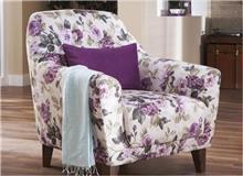 כורסא פרחונית - אלבור רהיטים