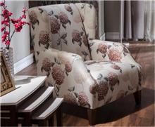 כורסא בעיצוב פרחים - אלבור רהיטים