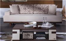 ספה בהירה רחבה - אלבור רהיטים