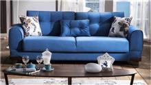ספה בכחול - אלבור רהיטים