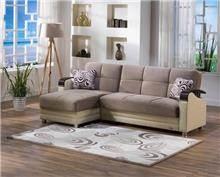 ספה שמנת עם שזלונג - אלבור רהיטים