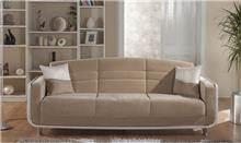 ספה נפתחת בז' - אלבור רהיטים