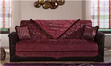 ספה בורדו נפתחת - אלבור רהיטים