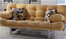 ספה צהובה תלת מושבית - אלבור רהיטים