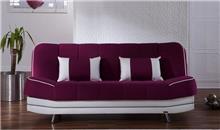 ספה סגול לבן - אלבור רהיטים
