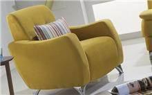 כורסא צהובה - אלבור רהיטים