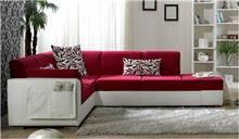 ספה פינתית אדומה - אלבור רהיטים