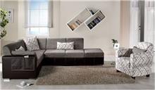 ספה פינתית באפור - אלבור רהיטים