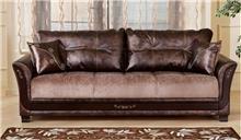 ספה חומה נפתחת - אלבור רהיטים