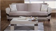ספה שמנת 3 מושבים - אלבור רהיטים
